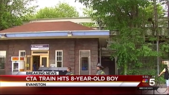 Boy Struck by CTA Train in Evanston