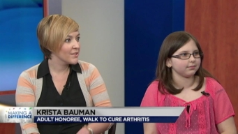 Making A Difference: Walk to Cure Arthritis