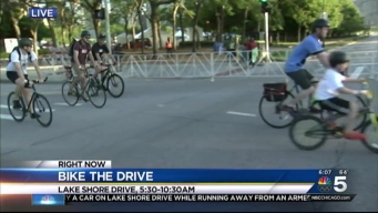 Bike the Drive Hits Chicago