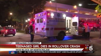 Teenager Killed, 2 Injured in Northwest Side Crash