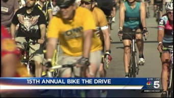 Bike the Drive Takes Chicago