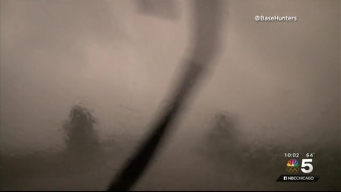 New Video Shows Harrowing View Inside Tornado