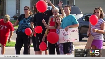 Suburban Boy Returns Home After Receiving Heart Transplant