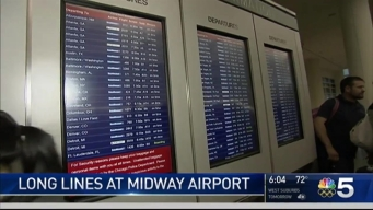 Frustrations Continue for Travelers at Chicago Airports