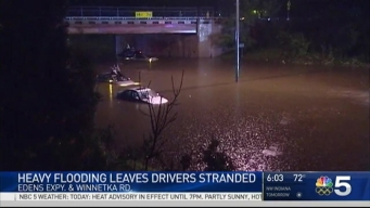 Chicago Area Battles Massive Flooding