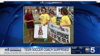 High School Senior, Soccer Coach Surprised by Mentees