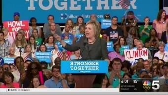 Clinton Wins Historic Nomination for President