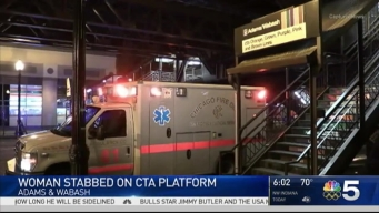 Woman Stabbed on CTA Platform in Chicago's Loop