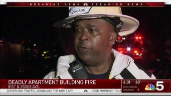 Baby Dies in South Chicago Apartment Fire
