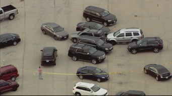 Sky5 Over Incident at Joliet Mall
