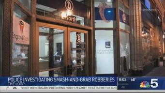 Police Investigate Burglaries in Chicago's Loop