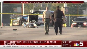 Off-Duty Chicago Police Officer Killed in Crash