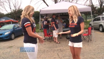 Kristin Cavallari Helps Woman Find Date at Bears Tailgate