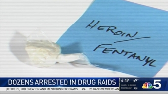 25 Arrested in Raids Combating Fentanyl-Laced Heroin