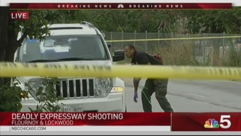 1 Killed, 1 Injured in Shooting on Eisenhower Expressway