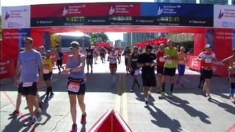 Chicago Marathon Finish Line 16: 4:28:14