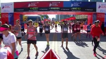 Chicago Marathon Finish Line 19: 4:41:04