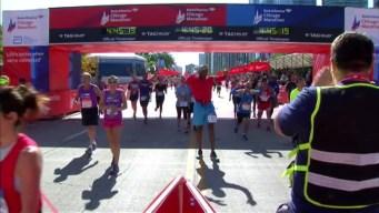 Chicago Marathon Finish Line 20: 4:44:37