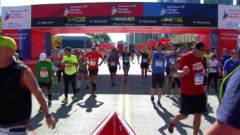 Chicago Marathon Finish Line 21: 4:46:02