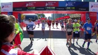 Chicago Marathon Finish Line 22: 4:49:51