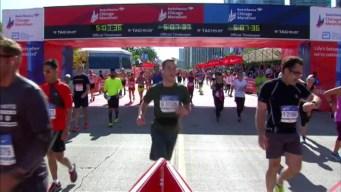Chicago Marathon Finish Line 26: 5:05:08