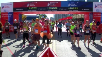 Chicago Marathon Finish Line 27: 5:10:04