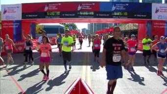 Chicago Marathon Finish Line 31: 5:24:08