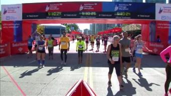 Chicago Marathon Finish Line 32: 5:28:30