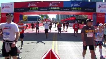Chicago Marathon Finish Line 37: 5:48:42