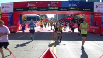 Chicago Marathon Finish Line 38: 5:52:15