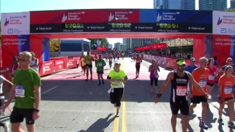 Chicago Marathon Finish Line 46: 6:19:25