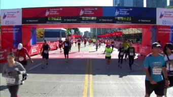 Chicago Marathon Finish Line 50: 6:32:45
