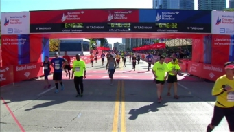 Chicago Marathon Finish Line 53: 6:44:46