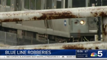 Police Warn of Robberies on CTA Trains