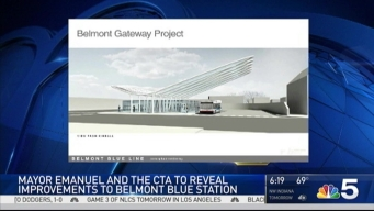 CTA Blue Line's Belmont Station to Get Major Overhaul