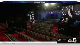 Preparations for Third and Final Presidential Debate Underway