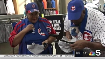 Cubs Merchandise Flies off the Shelves