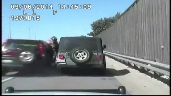 Video Shows Moment Alleged Drunk Driver Hit, Critically Wounded ISP Trooper