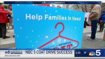 Coat Drive Doubled in Donations