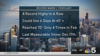 Chicago's Unseasonable Warmth Continues to Break Records