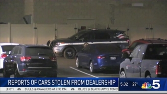 5 Cars Stolen From Tinley Park Dealership