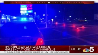 1 Dead in Cincinnati Nightclub Shooting