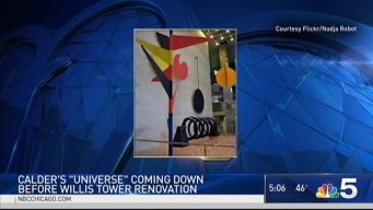 Famous Work of Art to Leave Willis Tower