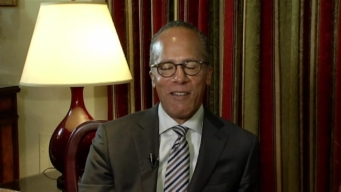 Lester Holt Takes the Subway to Work