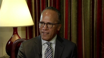 Lester Holt on His Chicago Reporting, Award From DePaul