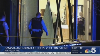 Louis Vuitton Store on Magnificent Mile Robbed in Smash-and-Grab