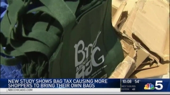 Chicago's Bag Tax Seems to Be Working