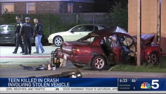 1 Dead, 1 Injured in Crash With Stolen Vehicle: Police