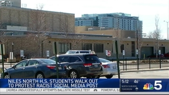 Niles North Students Walk Out Over Racist Snapchat