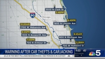 Chicago Police Warn of North Side Car Thefts, Hijacking